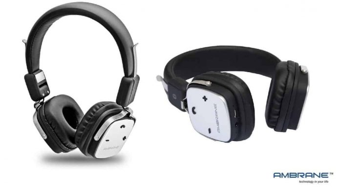 Ambrane WH-1100 Headphone Launched At Rs. 2,199 - 2