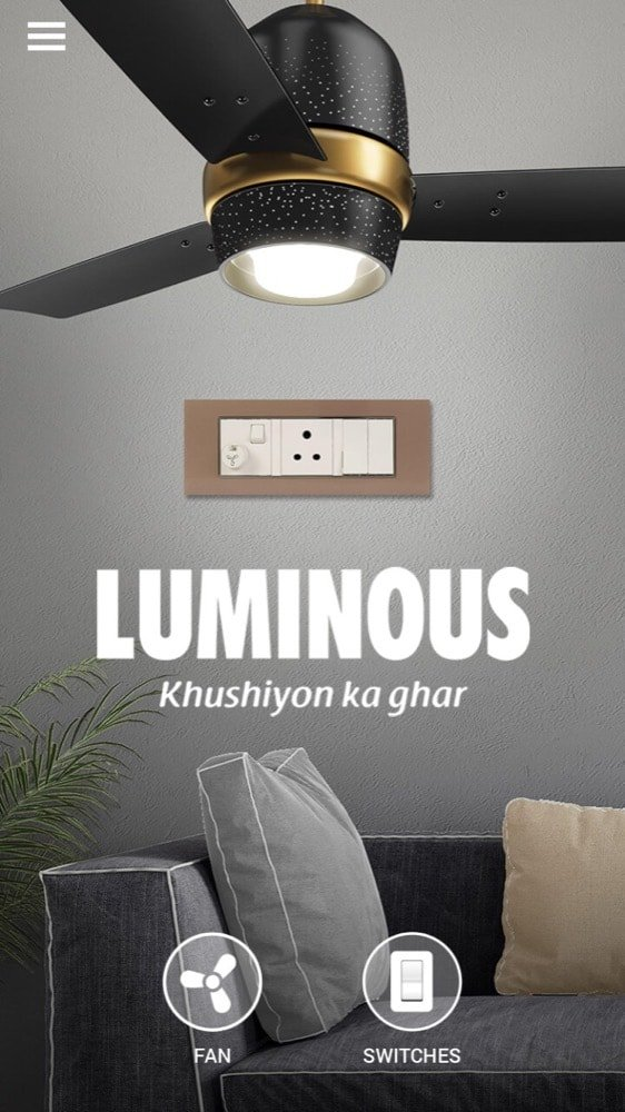 Luminous introduced luminous home that uses Augmented Reality to display the view of interiors - 1