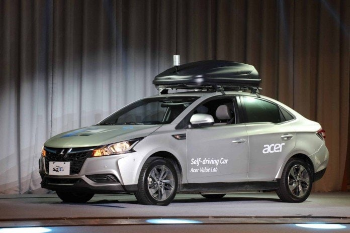 Acer showcases its Self Driving Concept Car at Taiwan Automative Technology Innovation Summit 2018 - 2