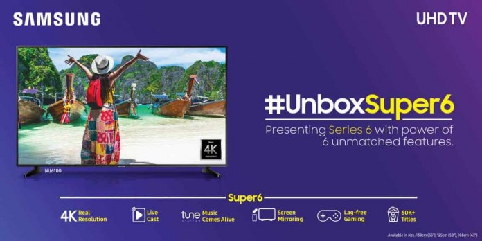 Samsung Super 6 UHD Smart TV Lineup Is Officially Launched in India for a Starting Price of Rs. 41,990 - 4