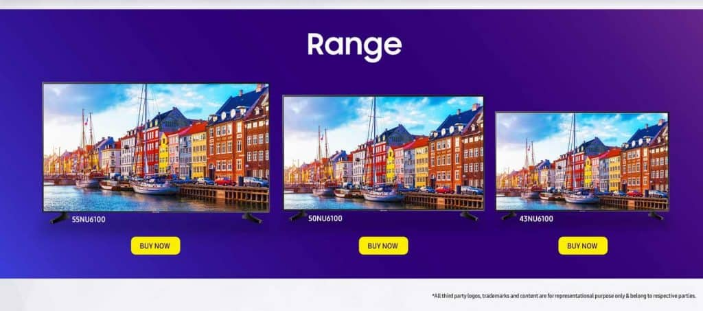 Samsung Super 6 UHD Smart TV Lineup Is Officially Launched in India for a Starting Price of Rs. 41,990 - 1