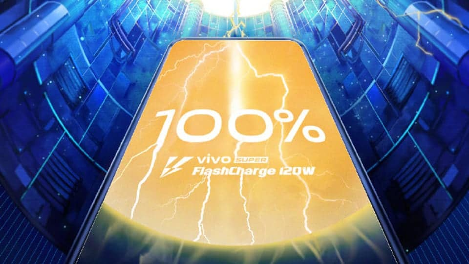 Vivo 120W Fast Charger Can Charge 4,000mAh Battery in Just 13 Minutes - 1
