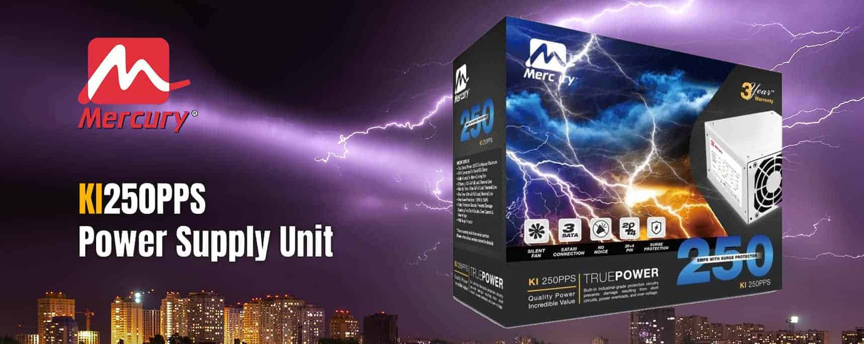 Mercury Launches KI250PPS PSU With High Efficiency for Power Fluctuations - 2