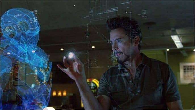 Is 3D Hologram Technology In IRON MAN Movie Is Possible In
