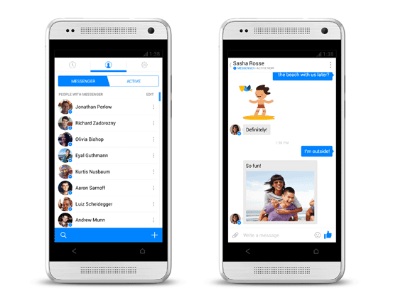 Re-enable Facebook Messenger Feature In Facebook App With