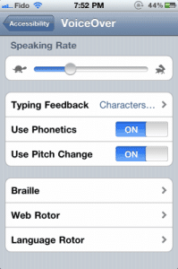 Voice over_iPHone 6