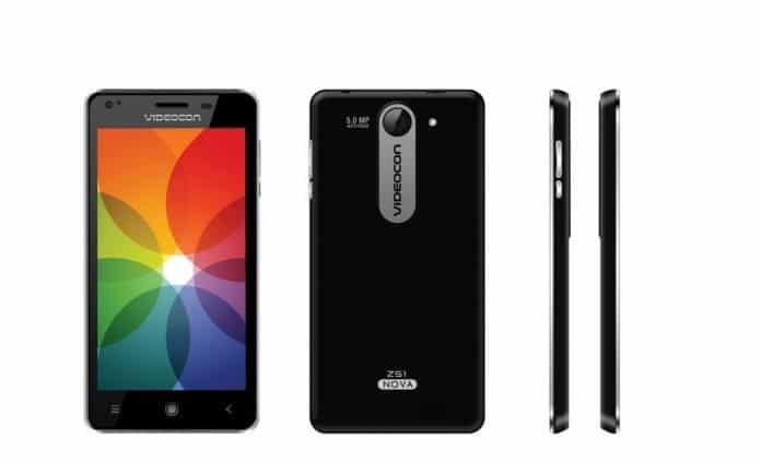 Videocon Mobile Phones launched Z51 Nova for Rs. 5,400 - 2