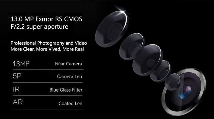TCL 3S M3G smartphone rear camera