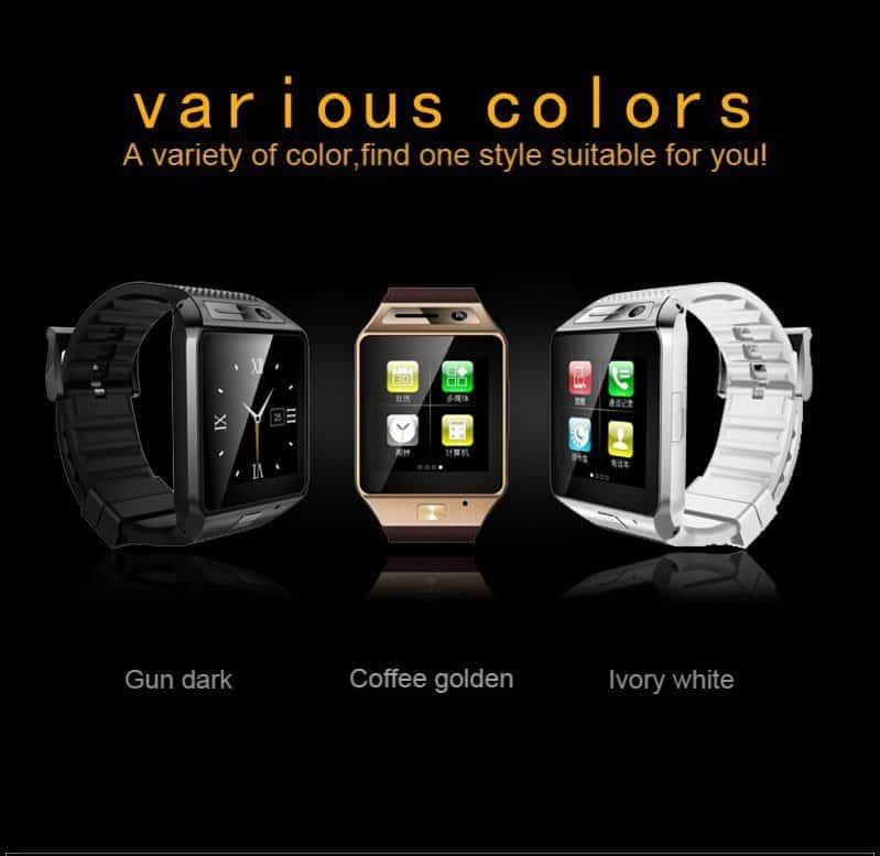 GV08S smartwatch-3-color-variants