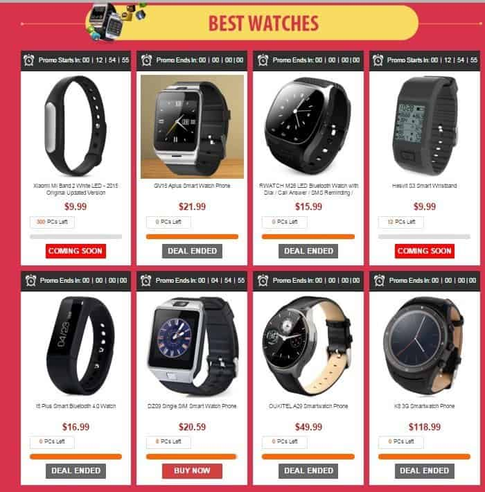 top-smartwathes-gearbest-cybermonday-deals-2015