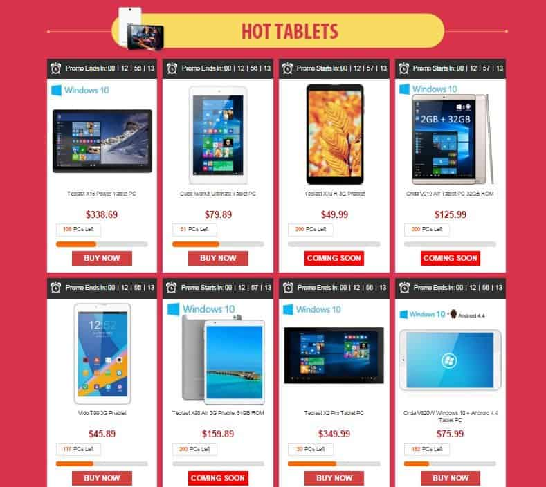 top-tablets-gearbest-cybermonday-deals-2015