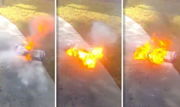 Hoverboard-on-Fire-UK-Hoverboard-Explodes-Into-Flames