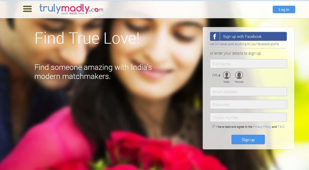Online dating apps india