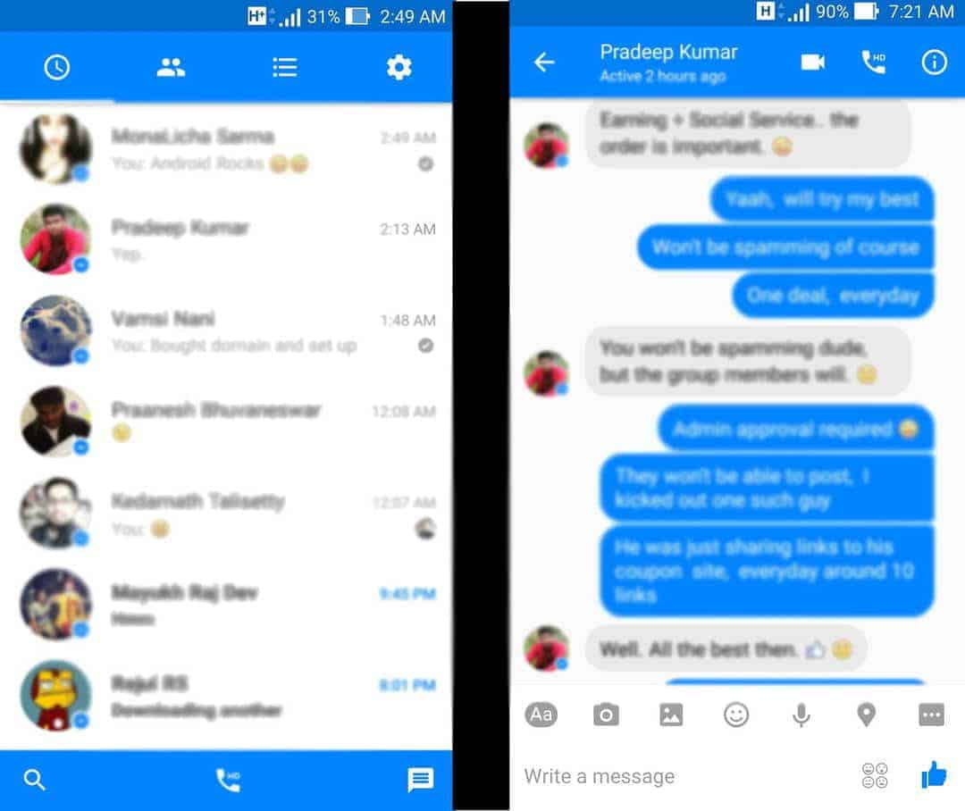 Facebook messenger new version 2016 download apk ...