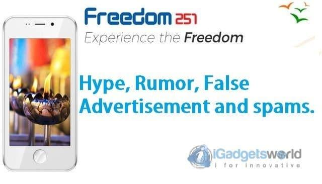 Freedom251 Shit: Hype, Rumor, False Advertising, Spams Made Me Mad - 2