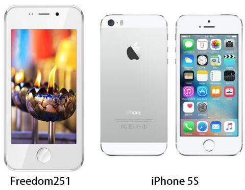 freedom251-vs-iPhone5s