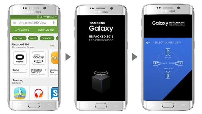 galaxy unpacked 2016 with mobile