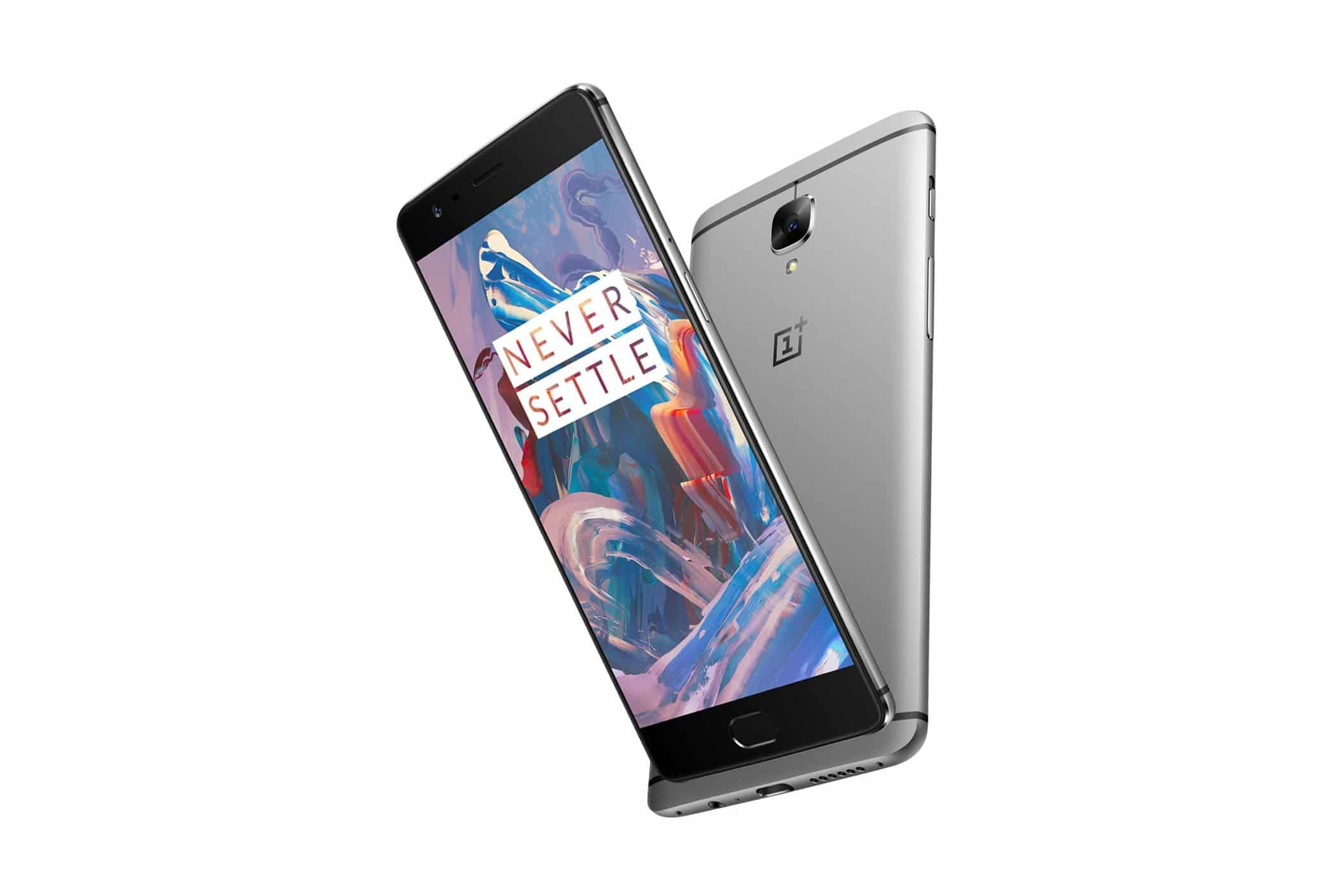 OnePlus 3 Official Press render