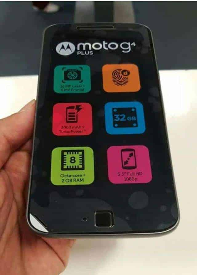 First Look At The Moto G4 Plus, Rumors Turned Out To Be True - 2