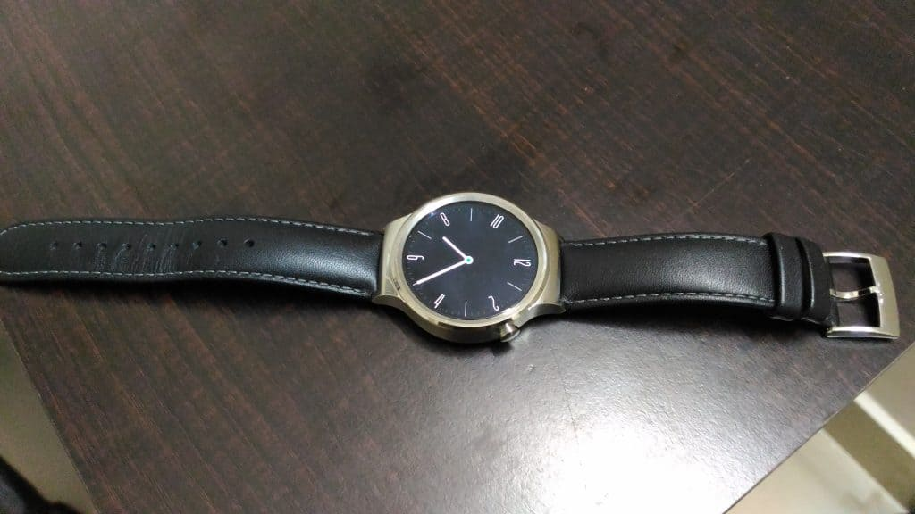 Huawei Watch Design - 1- front-side