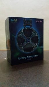 mixcder power - gaming headset unboxing -1
