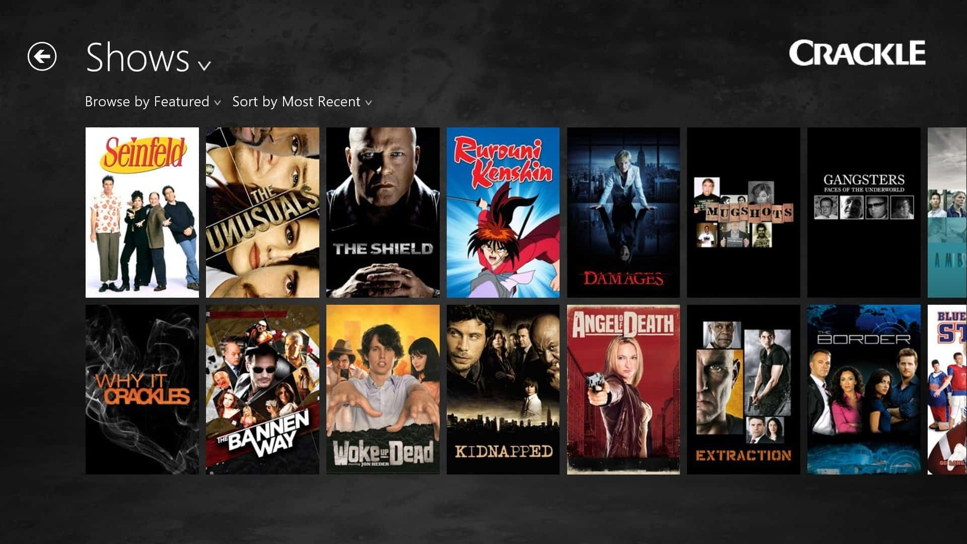 Watch tv shows online free streaming no sign up
