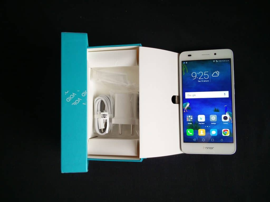 Honor 5C review - packaging