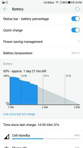 LeEco Le 2 Review - Battery life