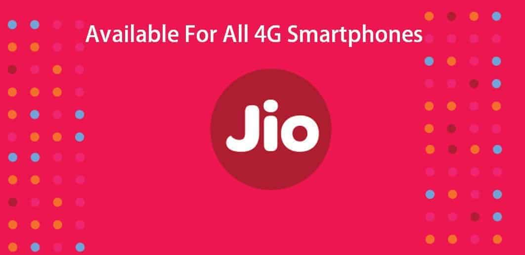 Jio Preview Offer is now available for all 4G smartphones
