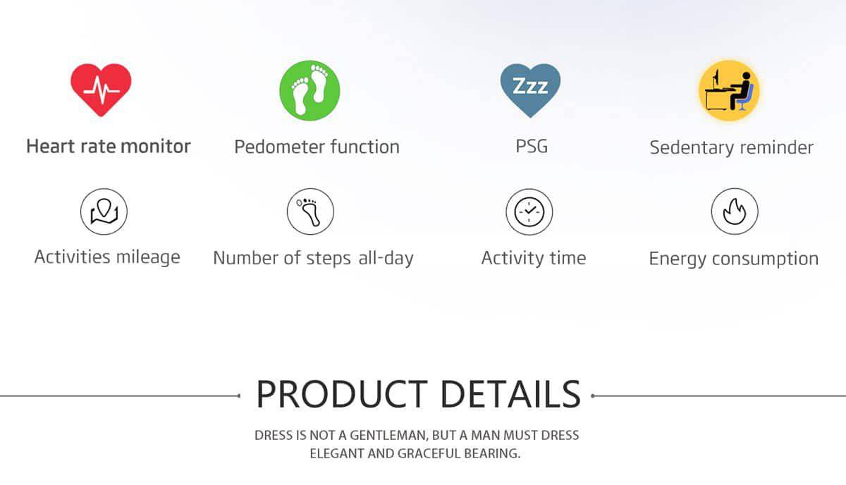NO.1 G5 Smart Watch_specifications