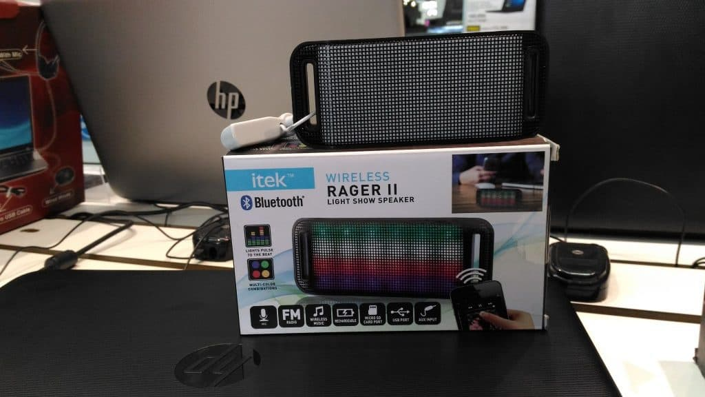 iTek Wireless Bluetooth speaker - freebie for reliance digital promotion - #bootupyourlife