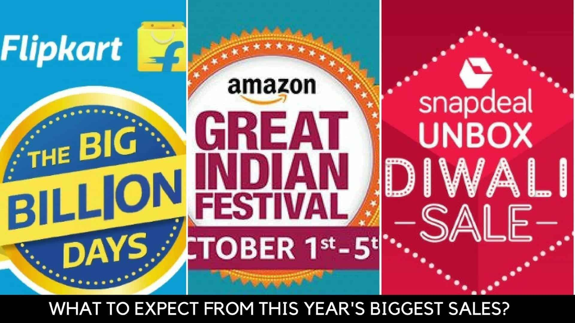 what to expect from flipkart big billion day 2016 amazon