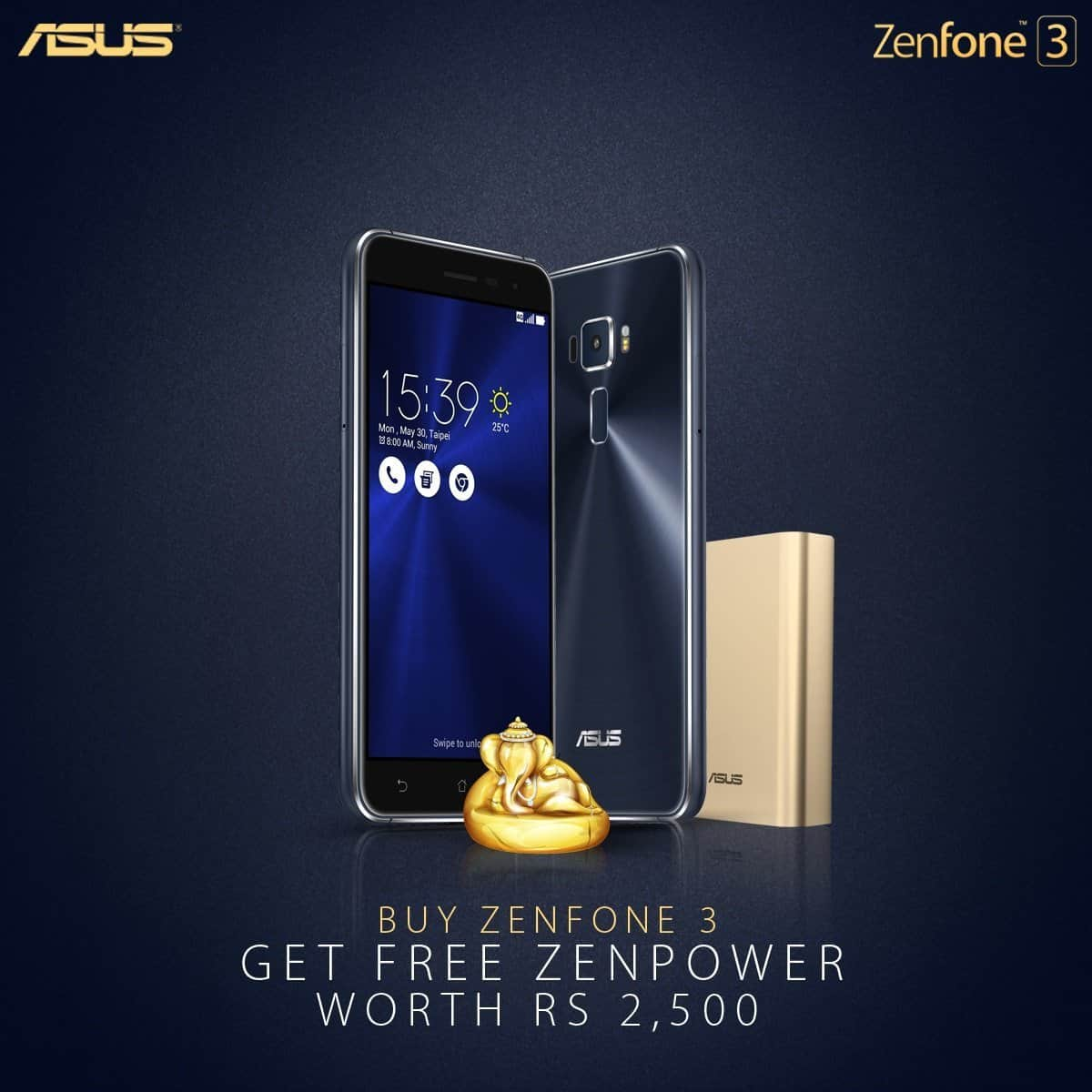 Zenfone 3 Ganesh Chaturthi offer