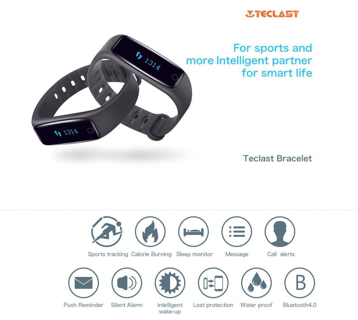 Teclast smart wristbands_Specifications