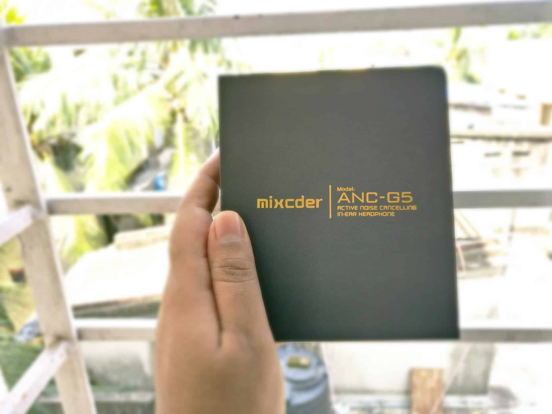mixcder ancg5 packaging review