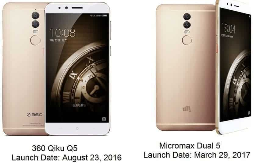 Micromax Dual 5 - Another re-branded phone with some minor changes? - 1