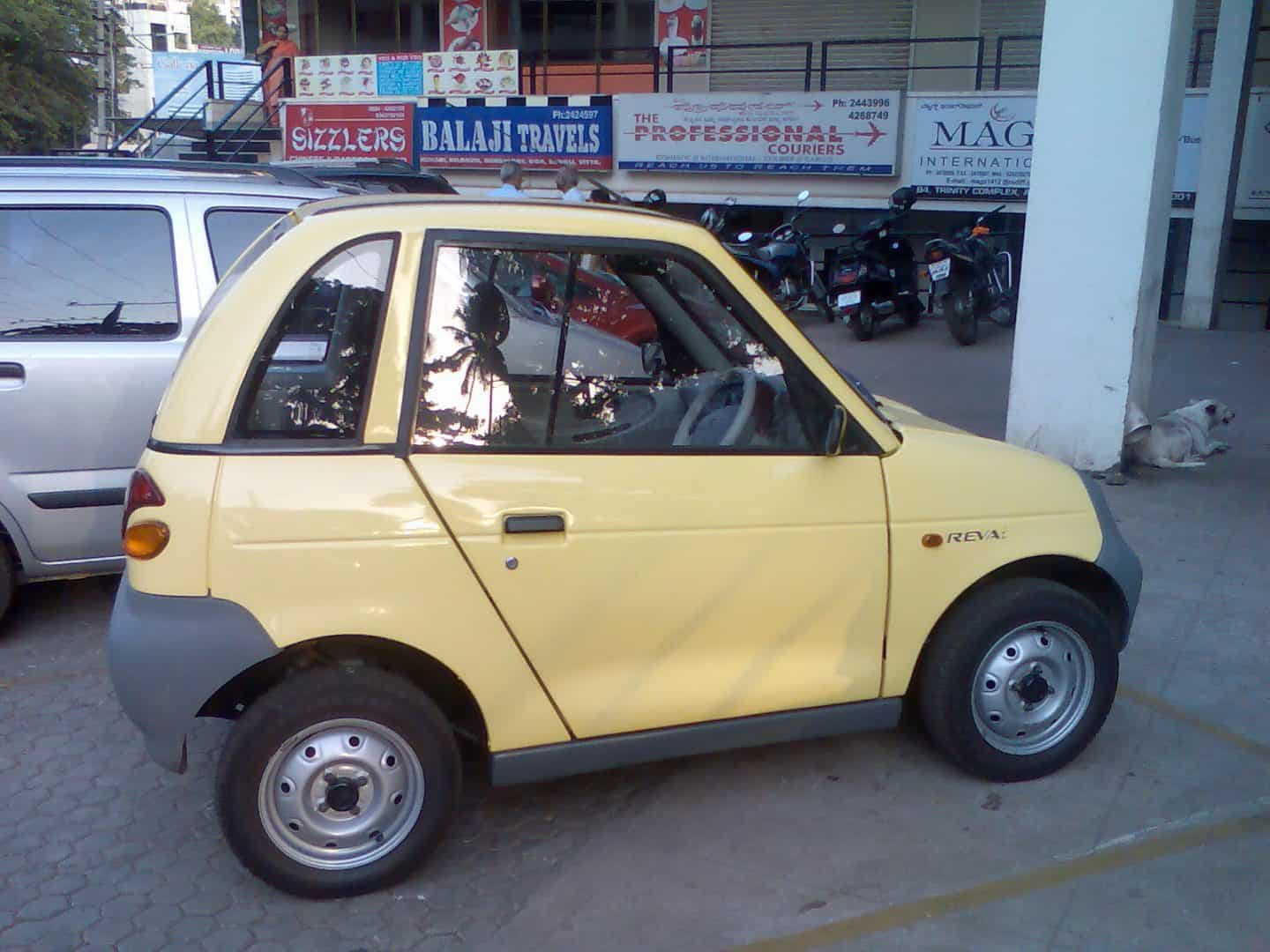 Reva - The first Electric car launched in India